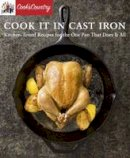 America's Test Kitchen - Cook It in Cast Iron - 9781940352480 - V9781940352480