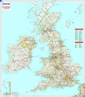 *              - Great Britain and Ireland (Rolled & Tubed Map) - 9782067106505 - V9782067106505
