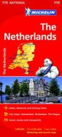 Michelin - The Netherlands National Map 715 - 9782067170674 - V9782067170674