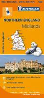 Michelin - Northern England, the Midlands - 9782067183254 - V9782067183254