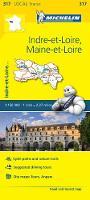 Michelin Travel & Lifestyle - Michelin FRANCE: Indre-et-Loire, Maine-et-Loire Map 317 (Maps/Local (Michelin)) - 9782067210226 - V9782067210226
