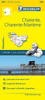 Michelin Travel & Lifestyle - Michelin FRANCE Charente, Charente-Maritime Map 324 (Maps/Local (Michelin)) - 9782067210363 - V9782067210363