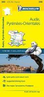 Michelin Travel & Lifestyle - Michelin FRANCE Aude, Pyrénées-Orientales Map 344 (Maps/Local (Michelin)) - 9782067210783 - V9782067210783