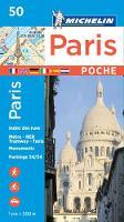 Michelin Travel & Lifestyle - Michelin Paris Pocket Map 50 (Plan Poche) - 9782067211520 - V9782067211520