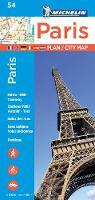 Michelin Travel & Lifestyle - Michelin Paris Street Map + Index Map 54 - 9782067211568 - V9782067211568