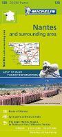 Michelin - Nantes & Surrounding Areas Zoom Map 128 - 9782067212022 - V9782067212022