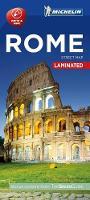 Michelin Travel & Lifestyle - Michelin Rome City Map - Laminated (Michelin Map) - 9782067214101 - V9782067214101