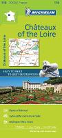 Michelin - Chateaux of the Loire Zoom Map 116 (Michelin Zoom Maps) - 9782067217836 - V9782067217836