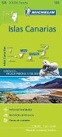 Michelin - Canary Islands Zoom Map 125: Iles Canaries (Michelin Zoom Maps) - 9782067217959 - V9782067217959