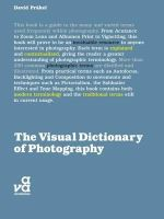 Prakel, David - The Visual Dictionary of Photography - 9782940411047 - V9782940411047