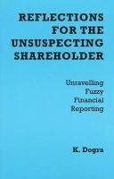 Dogra, K. - Reflections for the Unsuspecting Shareholder - 9782970048404 - V9782970048404