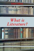 Gibson, Arthur - <I>What is Literature?</I> - 9783039109166 - V9783039109166