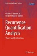 . Ed(s): Marwan, Norbert - Recurrence Quantification Analysis - 9783319356013 - V9783319356013
