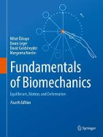 Özkaya, Nihat, Leger, Dawn, Goldsheyder, David, Nordin, Margareta - Fundamentals of Biomechanics: Equilibrium, Motion, and Deformation - 9783319447377 - V9783319447377