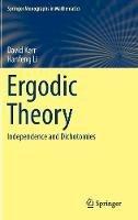 Kerr, David (Professor of Cancer Medicine University of Oxford UK and Adjunct Professor of Medicine); Li, Hanfeng - Ergodic Theory - 9783319498454 - V9783319498454
