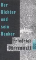 Durrenmatt - Der Richter Und Sein Henker - 9783499101502 - V9783499101502