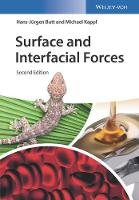 Butt, Hans–Jürgen, Kappl, Michael - Surface and Interfacial Forces - 9783527341658 - V9783527341658