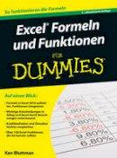 Bluttman, Ken - Excel Formeln und Funktionen Fur Dummies - 9783527712922 - V9783527712922