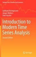 Kirchgassner, Gebhard; Wolters, Jurgen; Hassler, Uwe - Introduction to Modern Time Series Analysis - 9783642334351 - V9783642334351