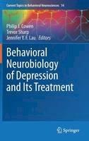 - Behavioral Neurobiology of Depression and Its Treatment (Current Topics in Behavioral Neurosciences) - 9783642354243 - V9783642354243
