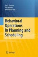 - Behavioral Operations in Planning and Scheduling - 9783642423918 - V9783642423918