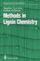Lin, Stephen Y. - Methods in Lignin Chemistry (Springer Series in Wood Science) - 9783642740671 - V9783642740671