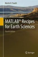 Trauth, Martin - MATLAB® Recipes for Earth Sciences - 9783662462430 - V9783662462430