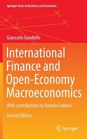 Gandolfo, Giancarlo - International Finance and Open-Economy Macroeconomics (Springer Texts in Business and Economics) - 9783662498606 - V9783662498606