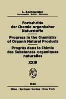 Biemann, K. - Fortschritte Der Chemie Organischer Naturstoffe / Progress in the Chemistry of Organic Natural Products / Progrès Dans La Chimie Des Substances Organiques Naturelles (English and G - 9783709181454 - V9783709181454