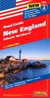 Hallwag - NEW ENGLAND 4 ATLANTIC NORTHEAST HALLWAG - 9783828307551 - V9783828307551