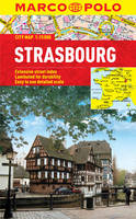 Marco Polo Travel Publilshing - Strasbourg Marco Polo Laminated City Map - 9783829769785 - V9783829769785