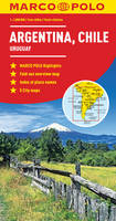 Marco Polo Travel Publilshing - Argentina, Chile Marco Polo Map (Uruguay) - 9783829769983 - V9783829769983