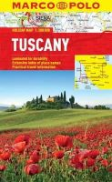 Marco Polo Travel Publishing - Tuscany Marco Polo Holiday Map - 9783829770293 - KOC0004656