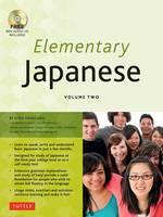 Hasegawa, Yoko - Elementary Japanese Volume Two: (CD-ROM Included) - 9784805313695 - V9784805313695