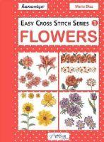 Diaz, Maria - Easy Cross Stitch Series 1: Flowers - 9786055647490 - V9786055647490