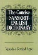 Vasudeo Govind Apte - Concise Sanskrit-English Dictionary - 9788120801523 - V9788120801523