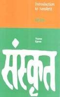 Egenes, Thomas - Introduction to Sanskrit - 9788120811409 - V9788120811409