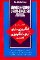 Abdul Haq - English-Urdu and Urdu-English Combined Dictionary - 9788176500326 - V9788176500326