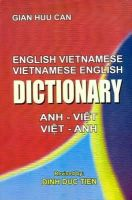 Gian Huu Can, Dinh Duc Tien - English-Vietnamese and Vietnamese-English Dictionary - 9788176500470 - V9788176500470