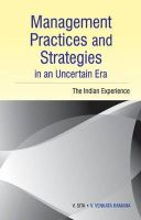 Sita, V. - Management Practices & Strategies in an Uncertain Era - 9788177083279 - V9788177083279