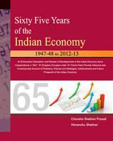 Prasad, Chandra Shekhar - Sixty Five Years of the Indian Economy - 9788177083637 - V9788177083637