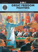 Anant Pai - Great Freedom fighters (5 in 1 series) - 9788184822182 - V9788184822182