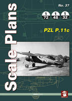 Karnas, Dariusz - PZL P.11c (Scale Plans) - 9788365281517 - V9788365281517
