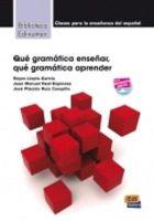 Edinumen - Biblioteca Edinumen: Que Gramatica Ensenar, Que Gramatica Aprender (French Edition) - 9788498482409 - V9788498482409