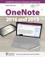Timmers, Koen - OneNote 2016 and 2013 (Computer Books) - 9789059054639 - V9789059054639