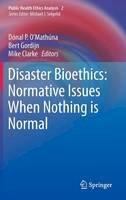 - Disaster Bioethics - 9789400738638 - V9789400738638