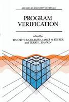- Program Verification: Fundamental Issues in Computer Science (Studies in Cognitive Systems) - 9789401047890 - V9789401047890
