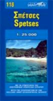 Collectif - Map of Spetses Island - 9789608189195 - V9789608189195