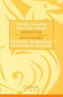 Katalin, P. M. - English-Hungarian & Hungarian-English Dictionary (Hungarian and English Edition) - 9789639954526 - V9789639954526