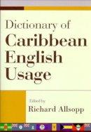 - Dictionary of Caribbean English Usage - 9789766401450 - V9789766401450